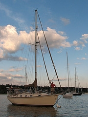 island packet sailboat